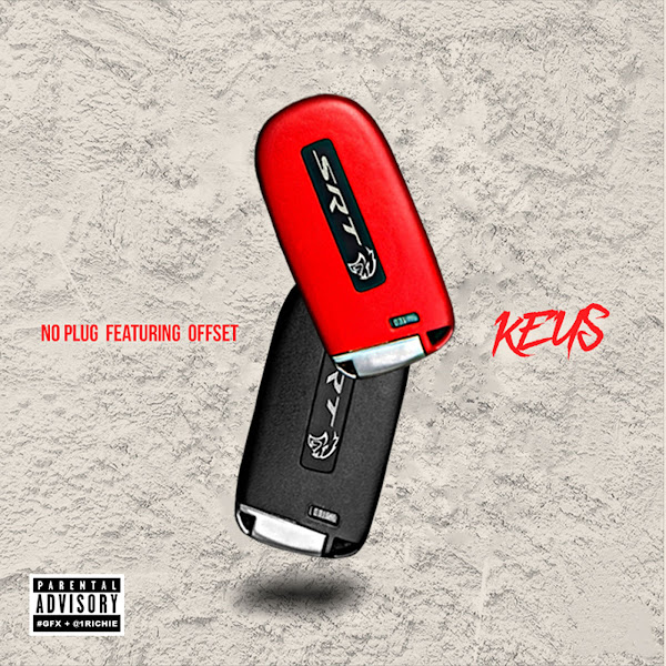 Noplug - Keys (feat. Offset) - Single Cover
