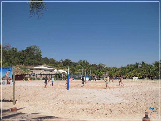 Praia do Cerrado - Hot Park - Rio Quente - Goiás