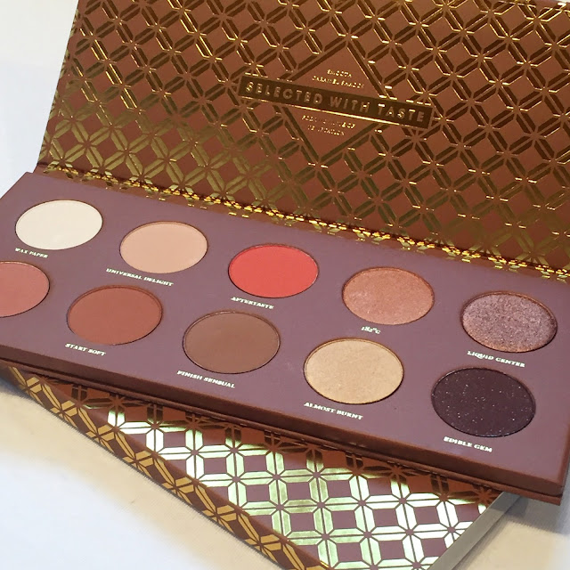 Zoeva Caramel Melange Palette Review and Swatches