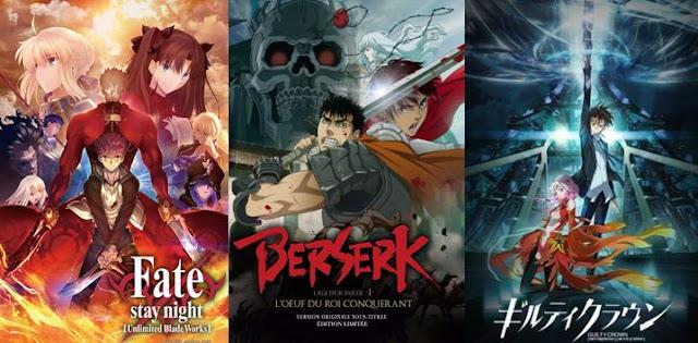 rekomendasi anime fantasy terkeren fantasi terbaik