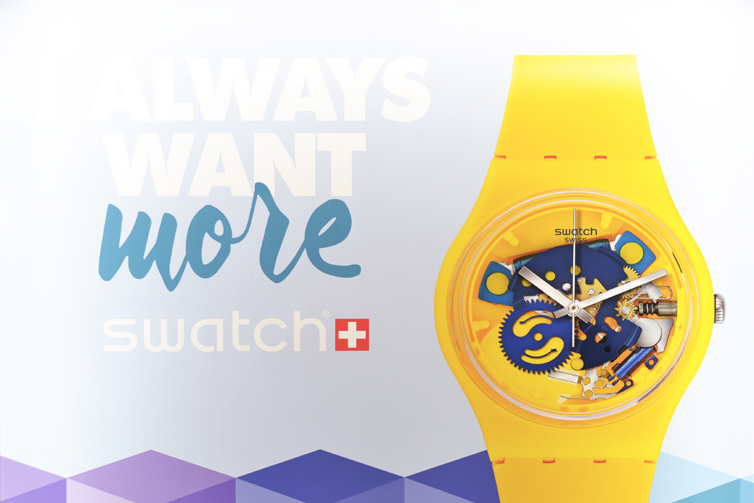 Swatch, event, mega store, opening, ketje from brussels, destinations watch, manneken pis, belgie, upr, belgian fashion blogger, belgische mode blogger, collector item