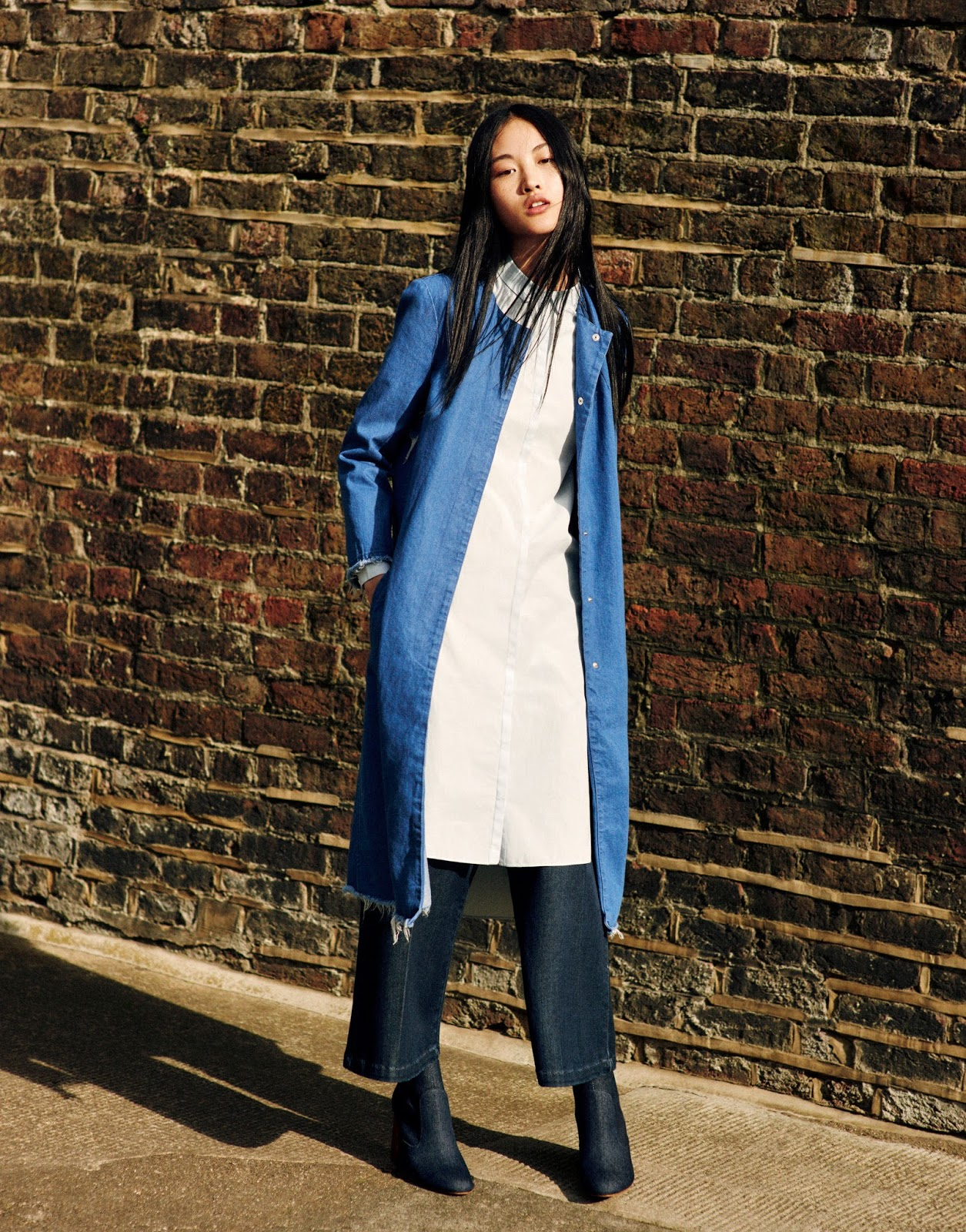 727b1e91 Jing Wen is one of the faces of Zara's new TRF campaign, shot by Matteo  Montanari.