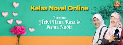 Kelas NOVEL Online Asma Nadia & Helvy Tiana Rosa