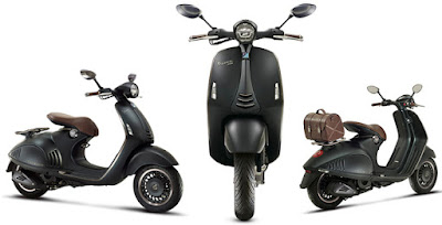 Vespa 946 Emporio Armani Scooter three looks