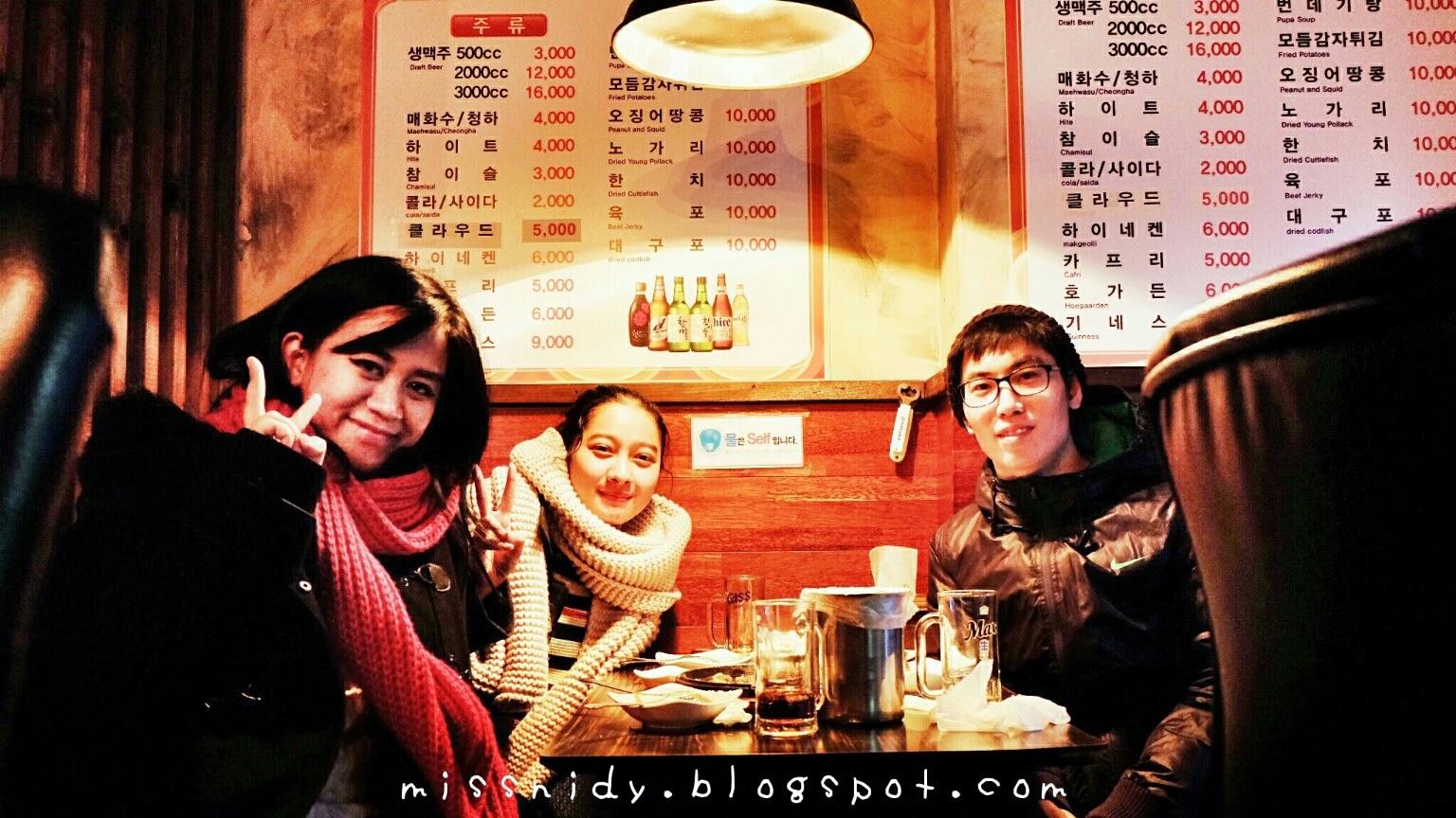 makan malam di seoul