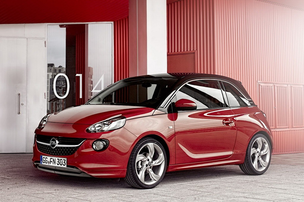 2013 opel adam. Black Bedroom Furniture Sets. Home Design Ideas