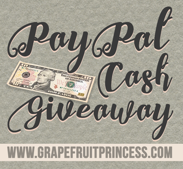 Paypal, Cash, Rafflecopter, International Giveaway,
