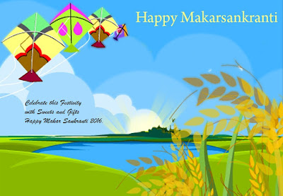Happy Makar Sankranti 2017 Greetings For WhatsApp DP