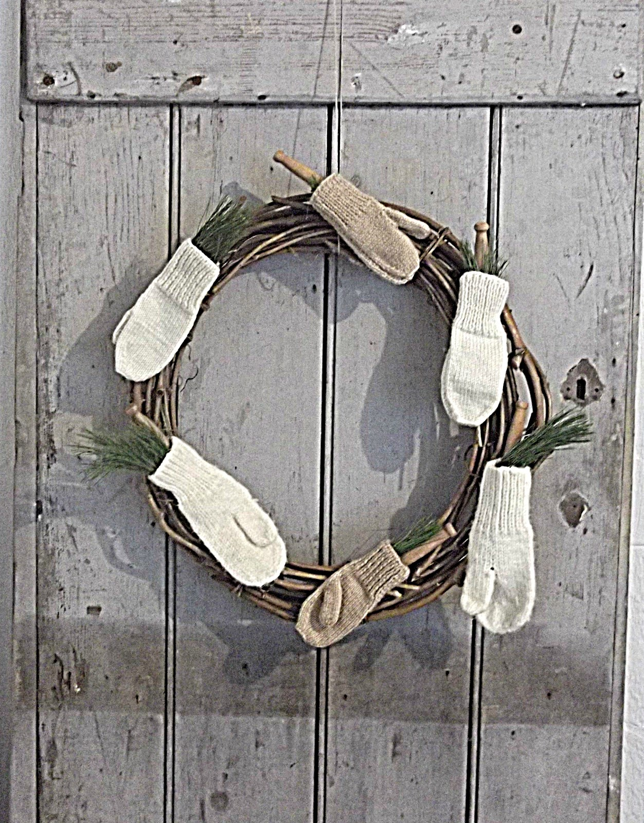 Rustic Farmhouse: The Start Of Our Christmas Decor