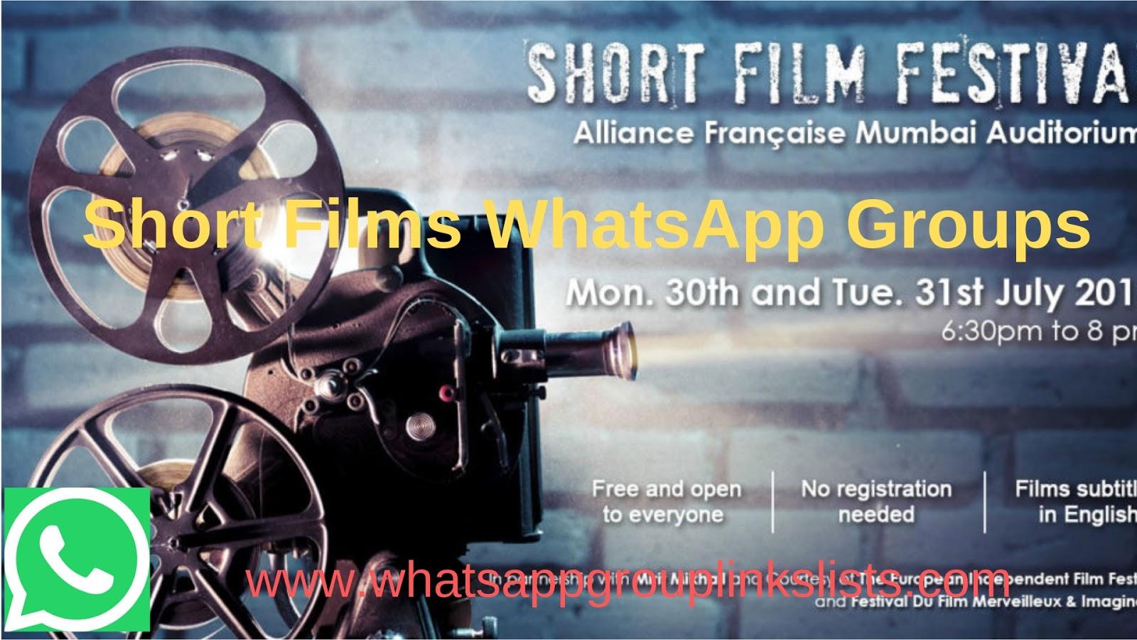 Join Short Film WhatsApp Group Links List
