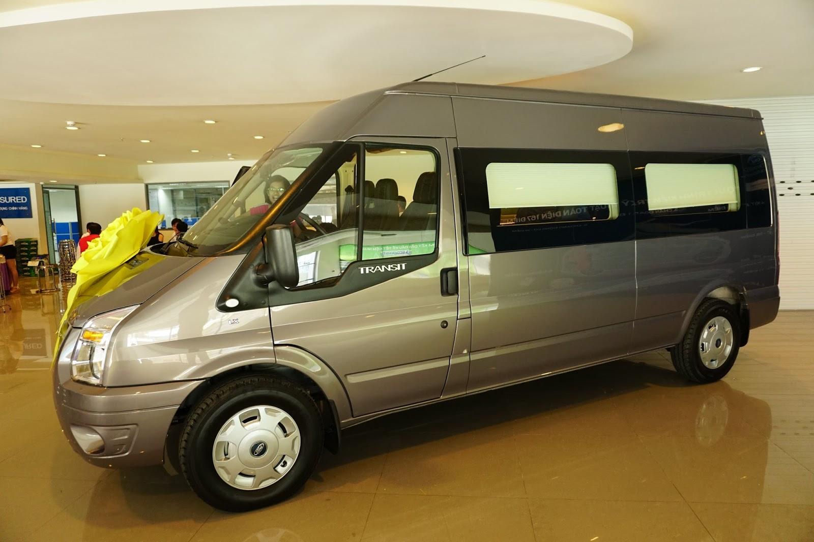 Ford Transit Limousine là sản phẩm độc quyền của Sài Gòn Ford