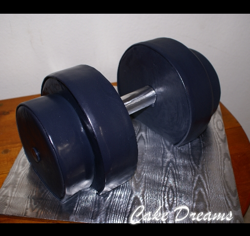 Dumbbell Cake Cake Ideas And Designs