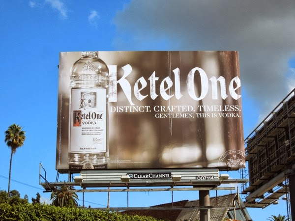 Ketel One Distinct Crafted Timeless billboard
