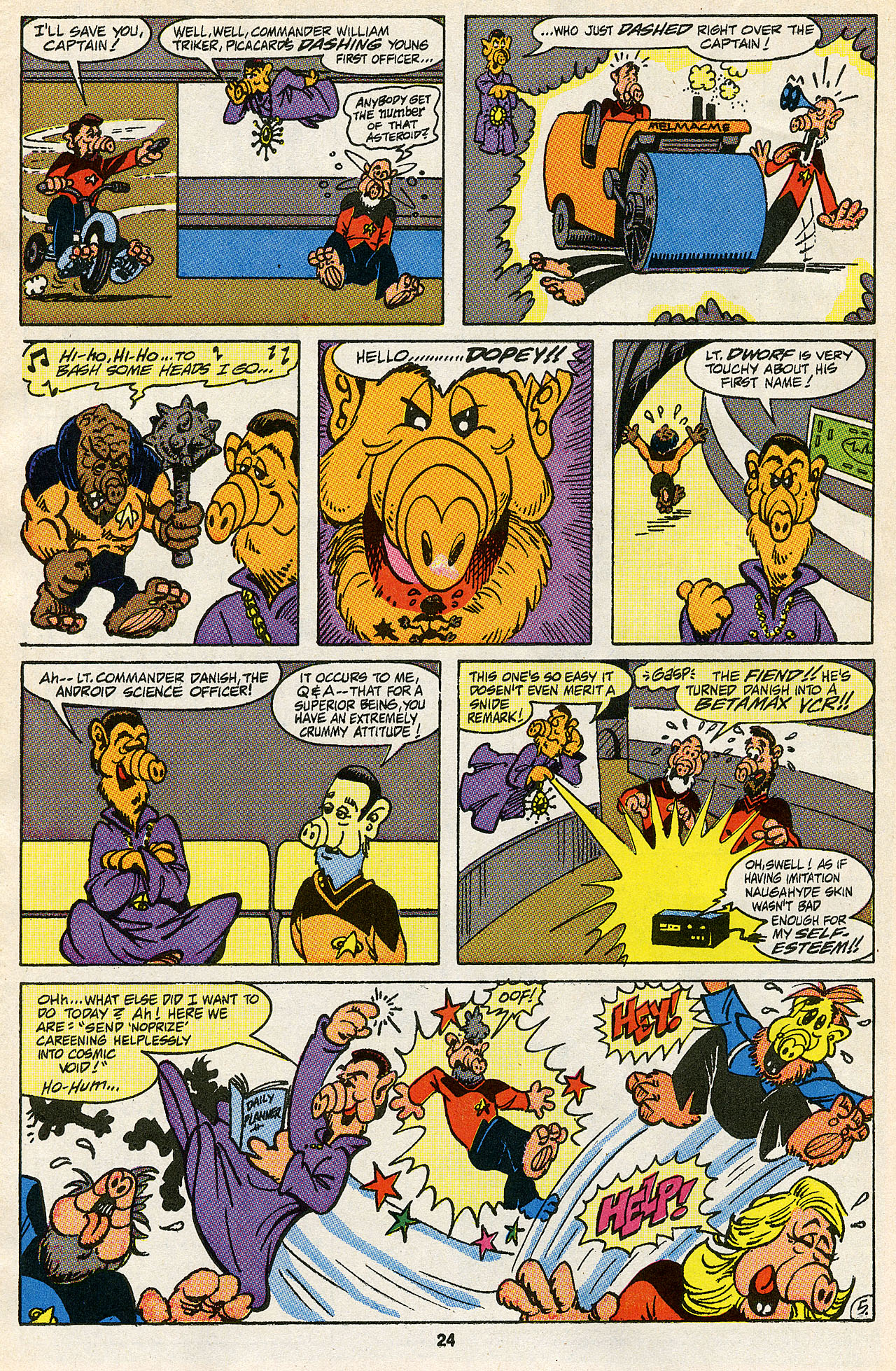 Read online ALF comic -  Issue #43 - 25