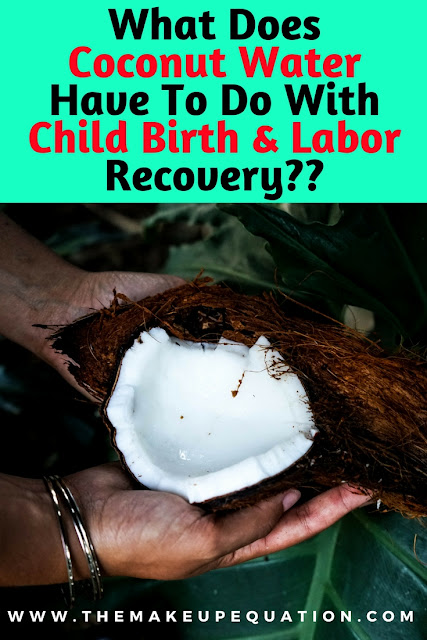 coconut water is a must for postpartum recovery.  childbirth. postpartum. cococnut water. healthy lifestyle. #motherhood #pregnancy #momlife