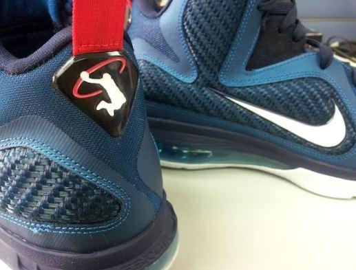 "low priced 241f3 4ed72 Nike Lebron 9 ""Swingman"" Sneaker (New Images + Release Date)"
