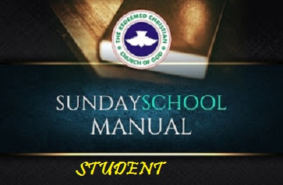 RCCG Sunday School Students Manual Lesson Ten (10) — The Holy Spirit In Action