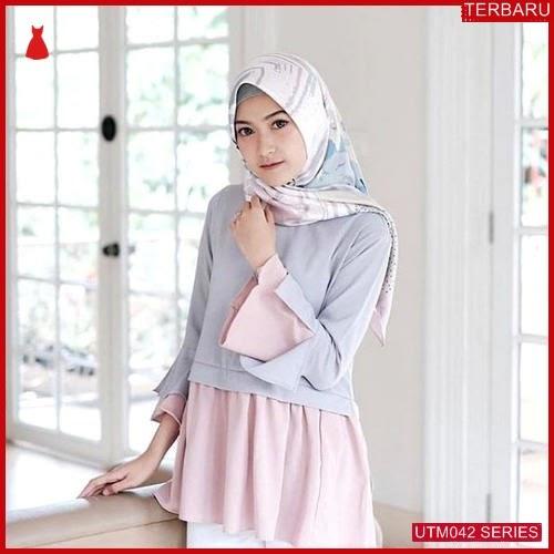 UTM042S60 Baju Safitri Muslim Blouse UTM042S60 02A | Terbaru BMGShop
