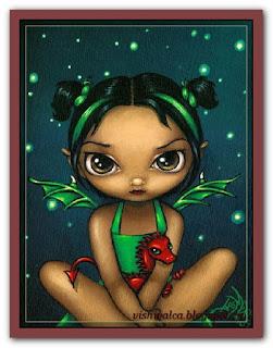 "HEAD HAEJBG109 ""Green Dragonling"""