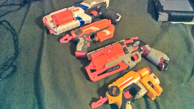 Nerf Blaster, Arsenal, Collection