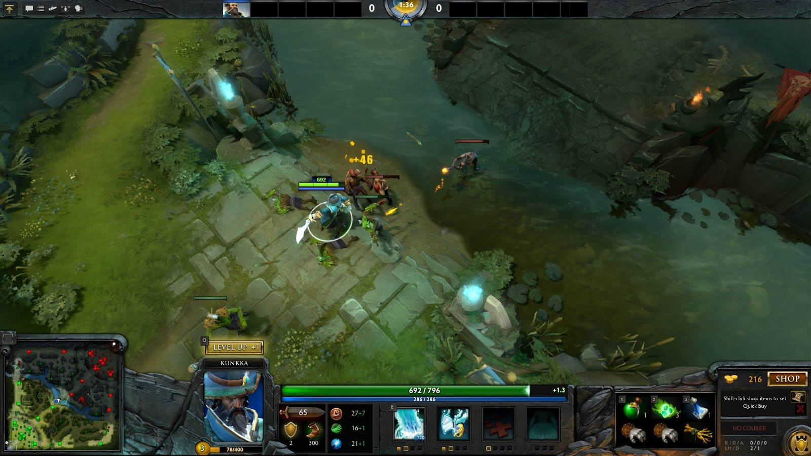 How To Last Hit Easy Using Quickcast 100% Working DOTA 2 | Planet