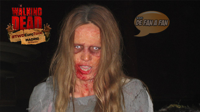 Los Zombis de The Walking Dead en Madrid