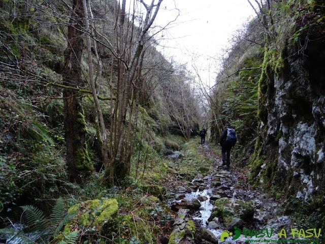 Senda del Chorrón y Foz del Río Valle: Foz del Río Valle