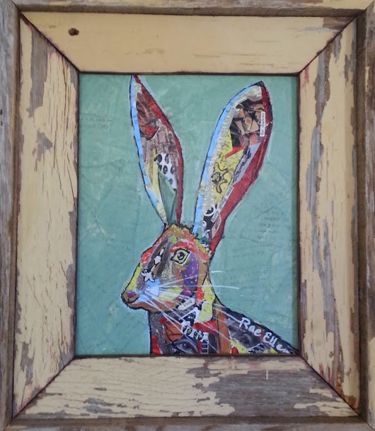 EVOLUTION OF A JACK RABBIT PAINTING