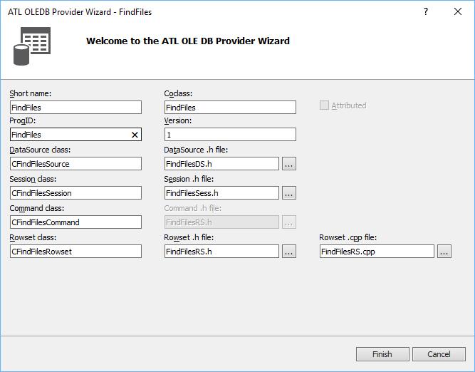 The Excel Development Platform: OLEDB - C++ - Solved: ATL's