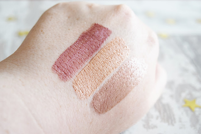 Sleek MakeUP Matte Me Metallic Lip Creams swatches