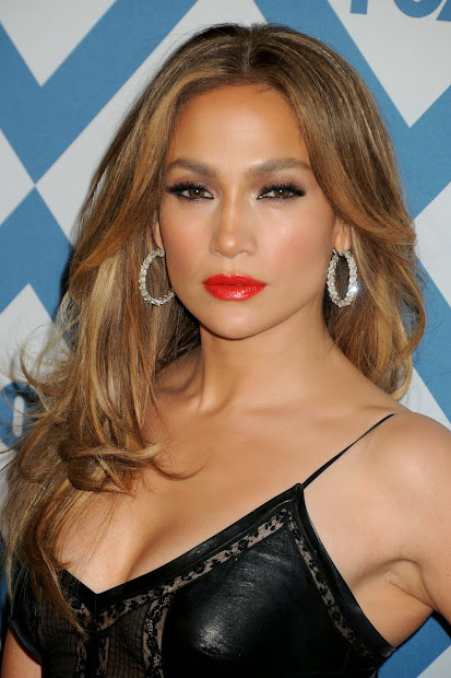 Jennifer Lopez Sexy In Sheer Leather Dress Fox -star Party Bootymotiontv