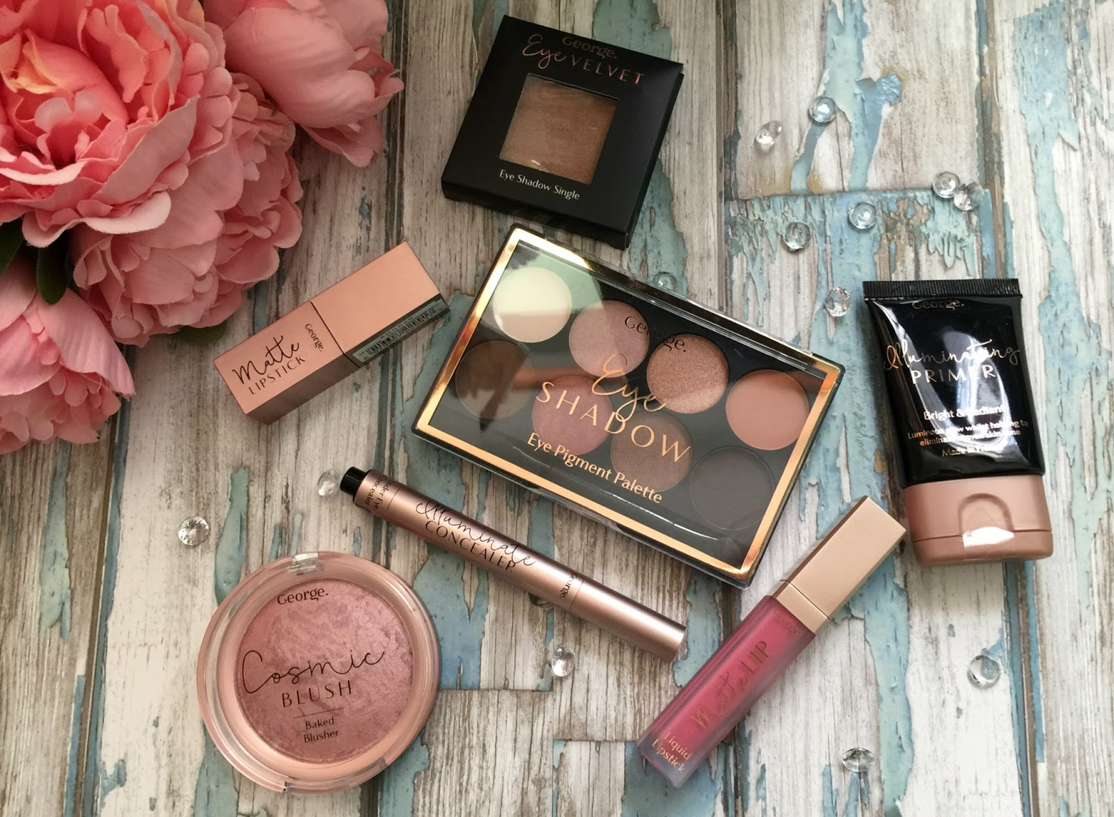 Get great makeup at budget prices with Asda George revamped makeup range