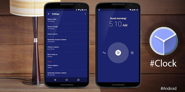 Google Clock  v5.1 Apk to Update to Set Any Audio File as your Alarm