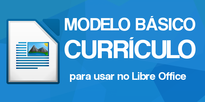 modelo de curriculum vitae libreoffice