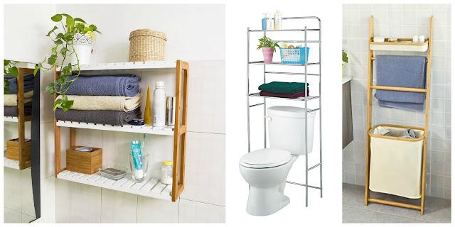 10 idee salvaspazio low cost per bagni piccoli for Piccoli mobili bagno