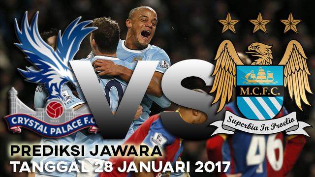 Prediksi Jawara Skor Bola Crystal Palace vs Manchester City