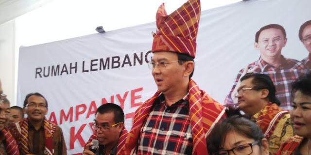 Pukul 00.00 WIB Ahok Jadi Gubernur Lagi, Jakarta Tak Ada Banjir Lagi?
