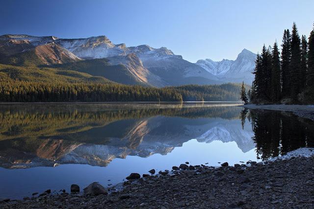 Parque Nacional de Jasper  no Canadá