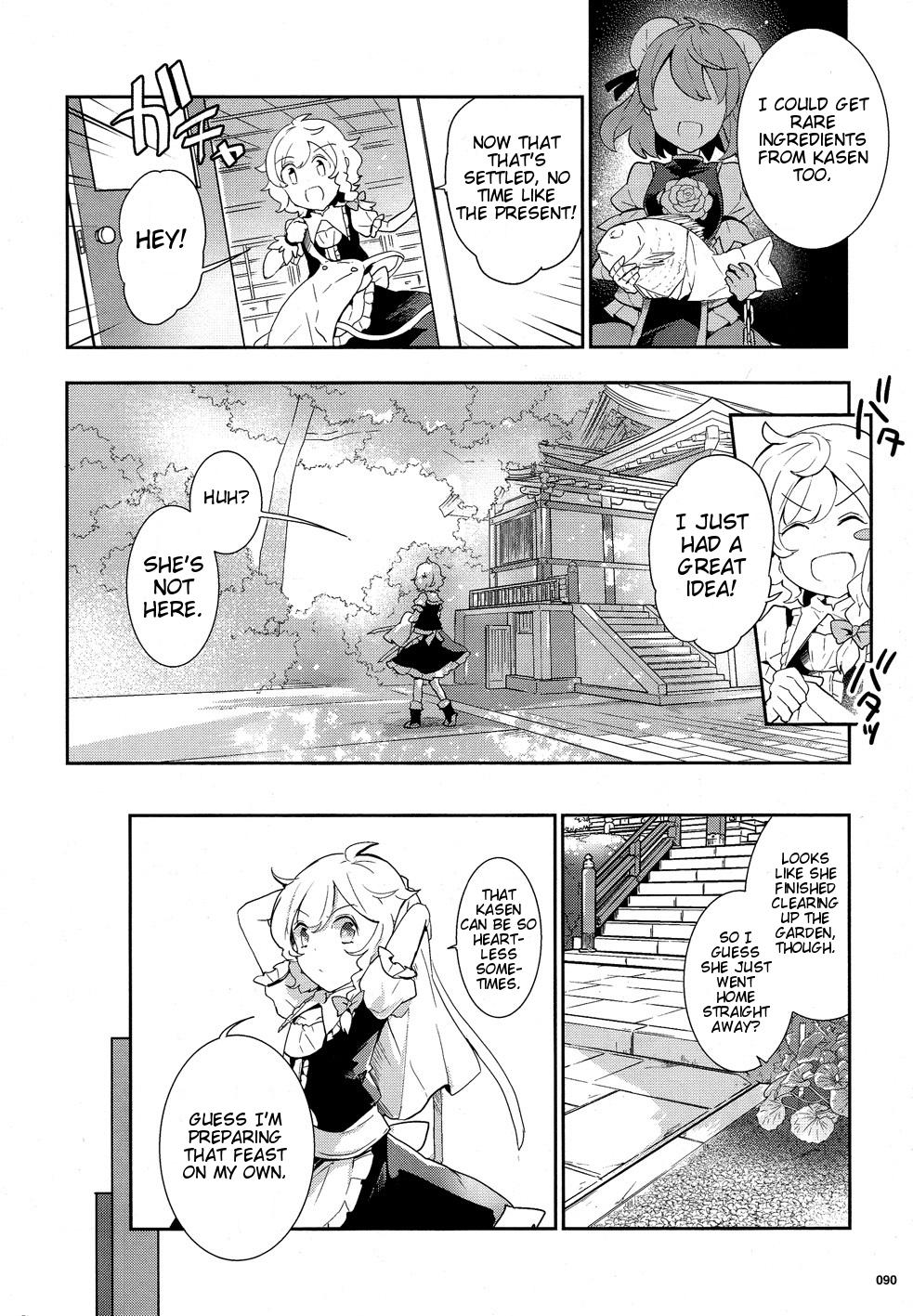 Touhou Ibarakasen - Wild and Horned Hermit - Chapter 35