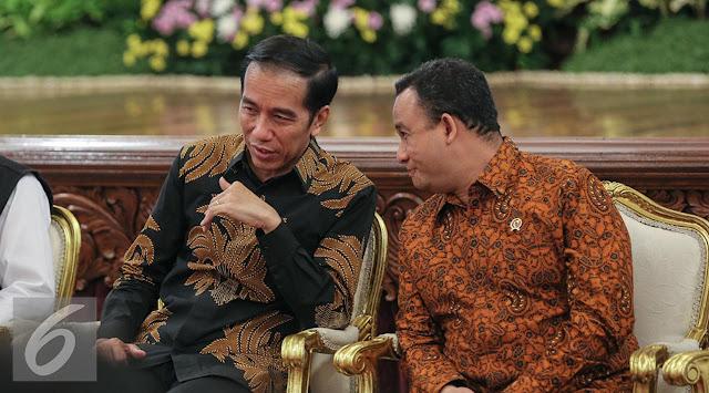 Cerita Pengalaman Jadi Gubernur, Jokowi Panggil Anies-Sandi