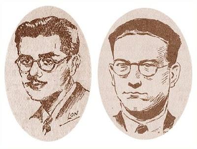 Los ajedrecistas Medina y Martínez Mocete