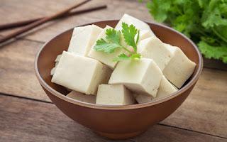 Cuenco con tofu
