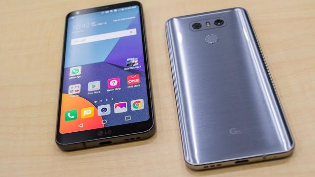 Smartphone LG G6 máximo rendimiento