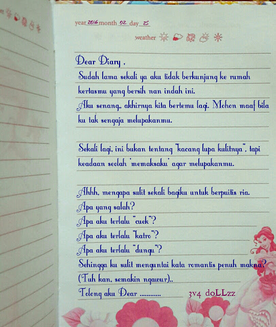 3D (Dear Digital Diary)
