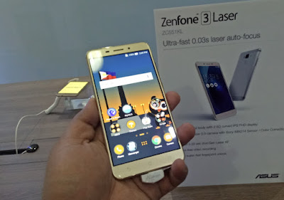 ASUS ZenFone 3 Laser Lands in the Philippines for Php11,995