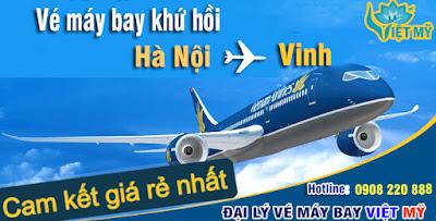 Vé máy bay Hà Nội đi Vinh khứ hồi