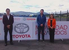 """Toyota del Ecuador participó con la zona """"movilidad para todos"""" en la Feria del Deporte"""