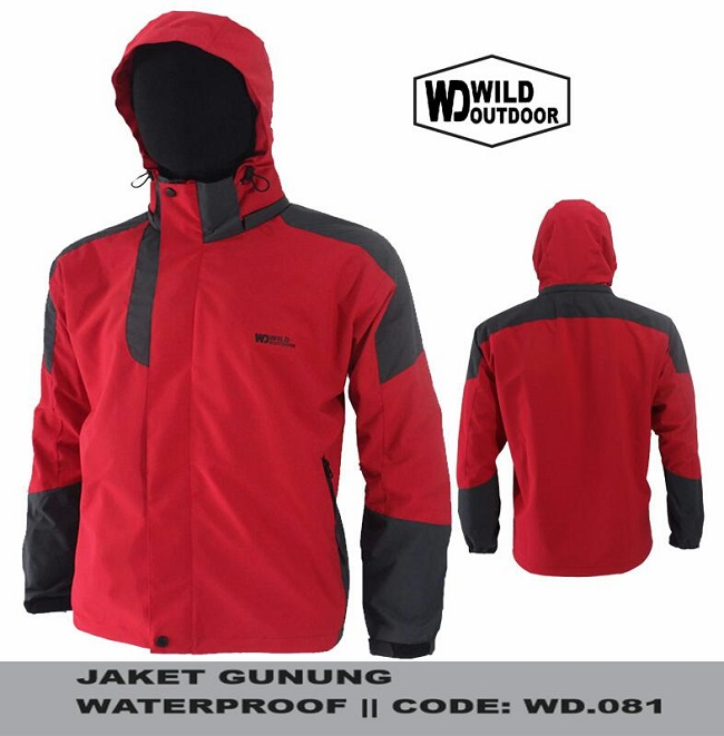 Jaket Gunung Waterproof dan Windproof