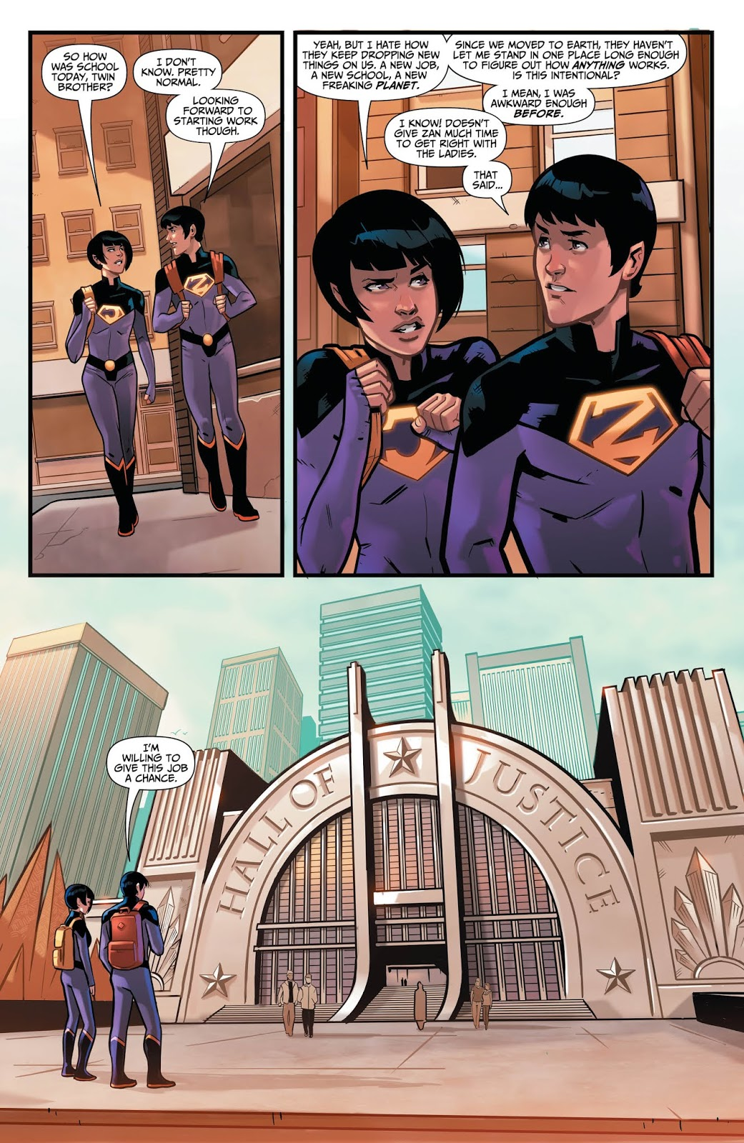WONDER TWINS #1 Page 5. Image Courtesy of DC Entertainment.