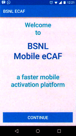 BSNL Digitalizing its channel partners, launches 'Retailer App' and 'e-CAF App' for BSNL Retailers for instant activation of new mobile connections
